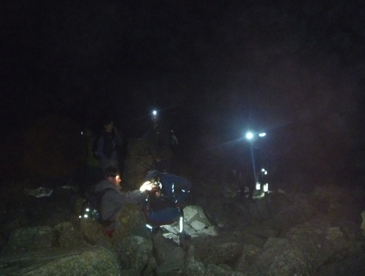 3 Peaks challenge - Night ascent of Scafell Pike