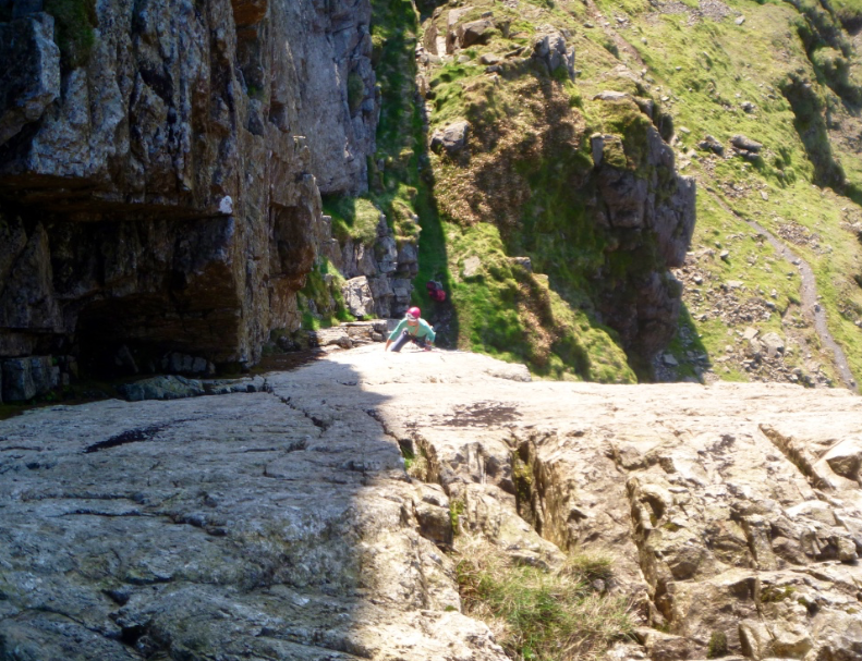 Botterill's Slab - classic climbs in the Lake District