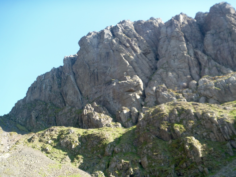 The highest crag in England - Scafell