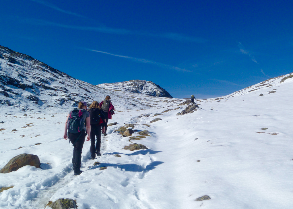 Walking-to-Scafell-Pike