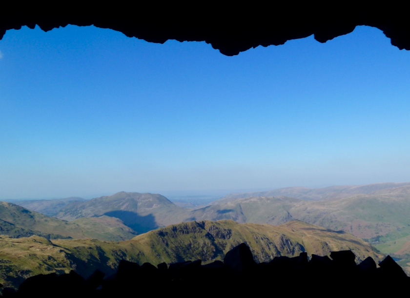 Priest hole, Dove crag, Lake District