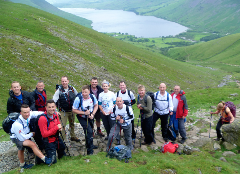 Guided walking Scafell Pike