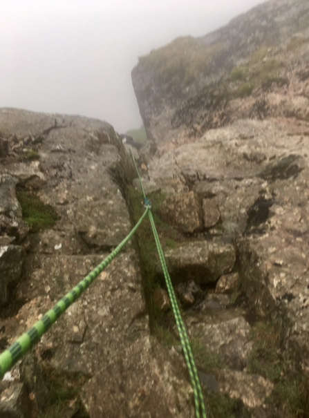 #Broad_Stand #climbing_rescue #Scafell #unassisted_hoist