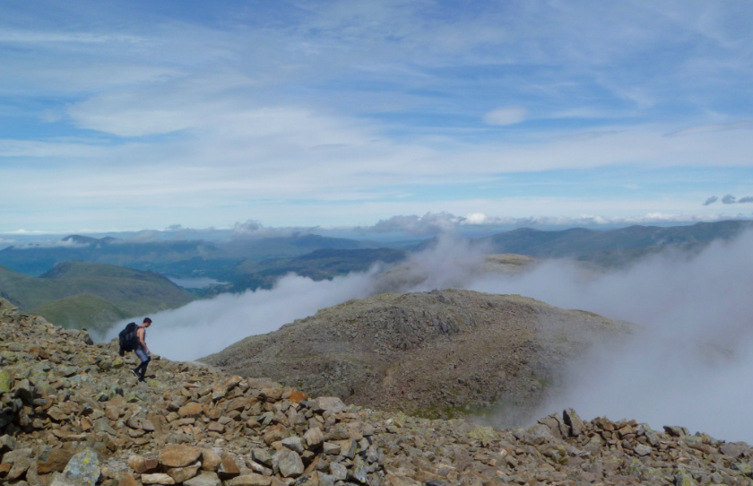 Guided walks to Scafell Pike