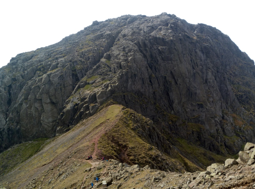 Mickledore and Broad stand, Scafell